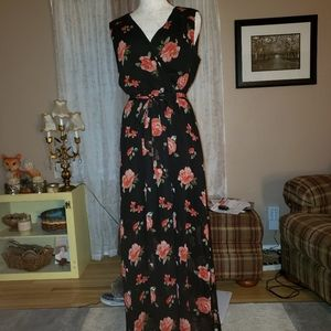 Wrap Style Dress Size - L (EUC)